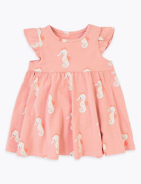 Cotton Rich Dress (0-3 Years)