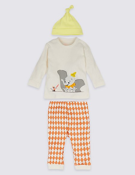 3 Piece Disney Characters™ Dumbo Outfit