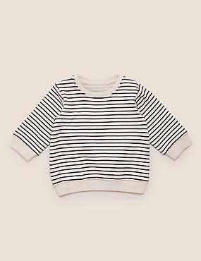Cotton Striped Sweater (0-3 Yrs)