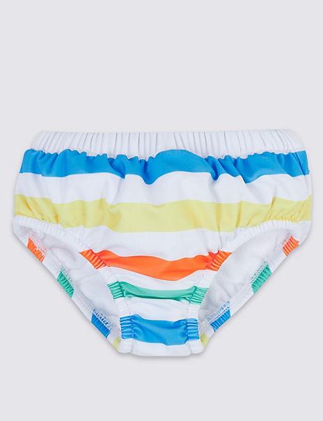 Stripe Swim Nappy