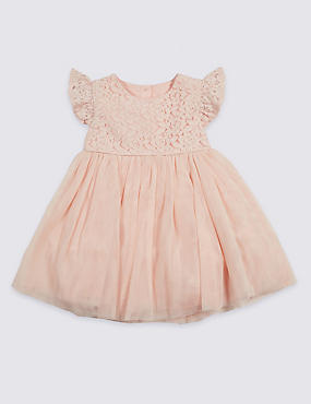 Frill Lace Baby Dress