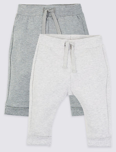 2 Pack Face Print Joggers