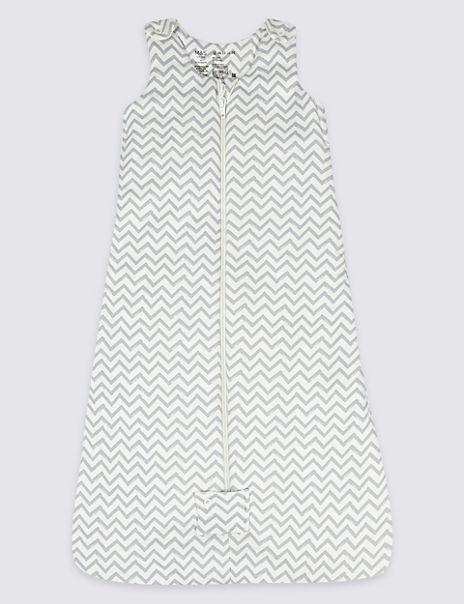 Pure Cotton Multi Way Zip 2.1 Tog Sleeping Bag