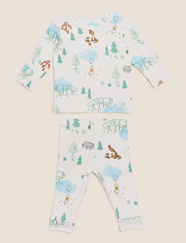 2pc Cotton Winnie the Pooh™ Outfit (0-3 Yrs)