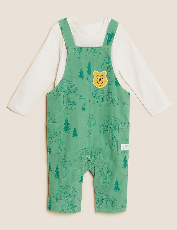 2pc Pure Cotton Winnie the Pooh™ Outfit (0-3 Yrs)