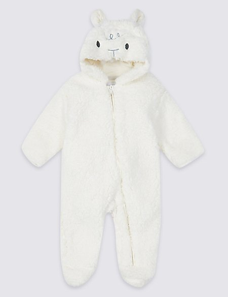 a2fb9ab4c Novelty Lamb Pramsuit