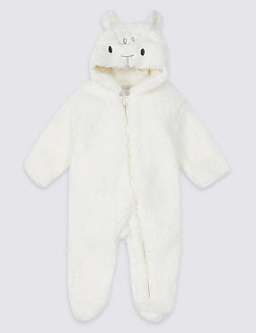 Novelty Lamb Pramsuit