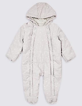 Pure Cotton Pramsuit