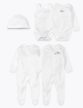 5 Piece Pure Cotton Start Up Set