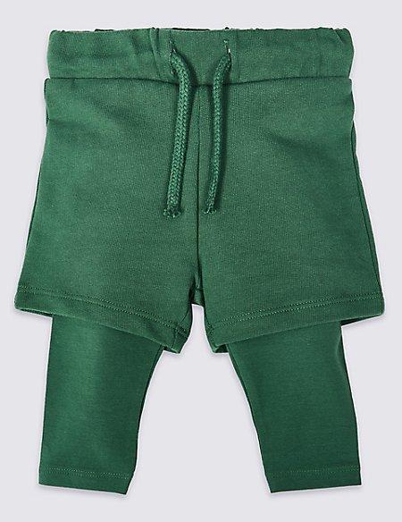Mock Shorts Leggings