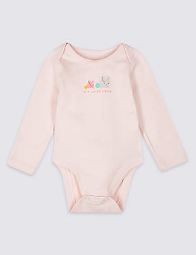 Pure Cotton Little Sister Bodysuit