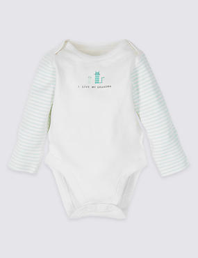 Pure Cotton I Love My Grandma Bodysuit