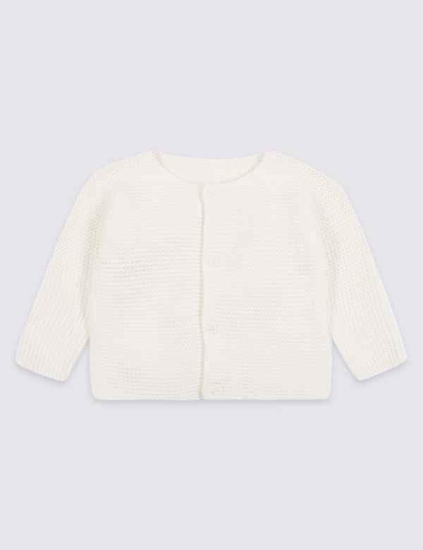 0fad8712c832 Pure Cotton Chunky Knit Cardigan