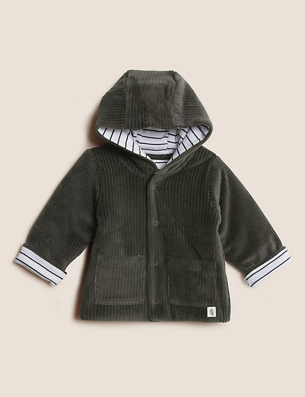 Cotton Hooded Jacket (0-3 Yrs)