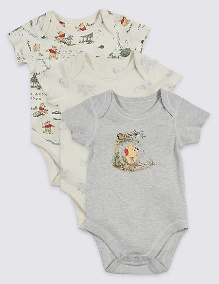 3 Pack Winnie the Pooh & Friends™ Bodysuits