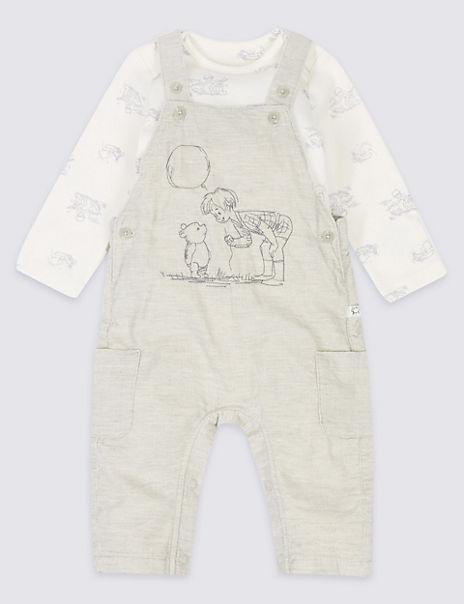 2 Piece Winnie the Pooh & Friends™ Dungarees & Bodysuit