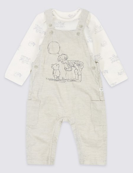 2 Piece Winnie the Pooh & Friends™ Dungarees & Bodysuit