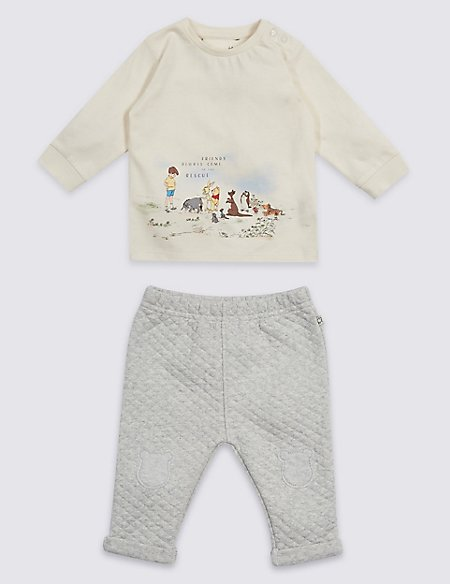 6646321ab 2 Piece Winnie the Pooh   Friends™ Top   Bottom Outfit