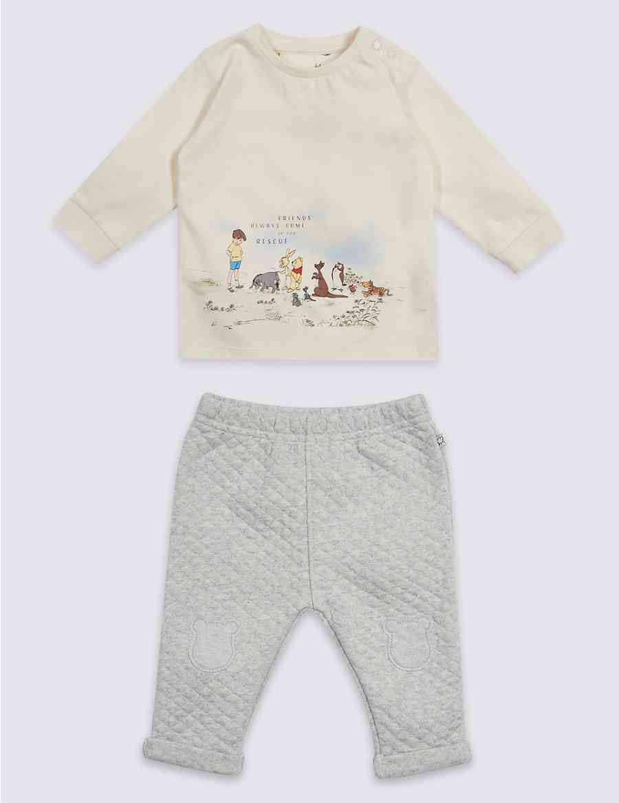 3e395c72a7cb 2 Piece Winnie the Pooh   Friends™ Top   Bottom Outfit