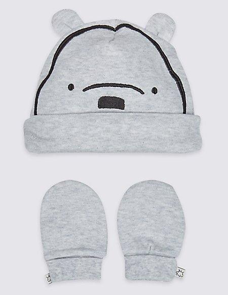 2 Piece Winnie the Pooh & Friends™ Hat & Mittens Set