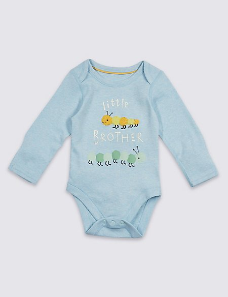 Little Brother Pure Cotton Bodysuit