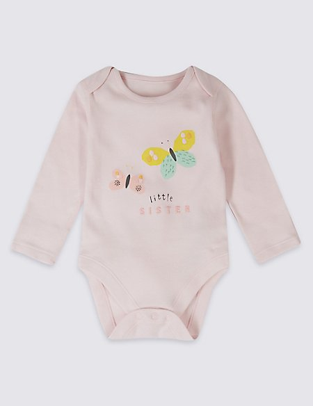 Little Sister Pure Cotton Bodysuit