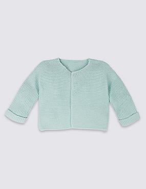 Pure Cotton Lightweight Cardigan