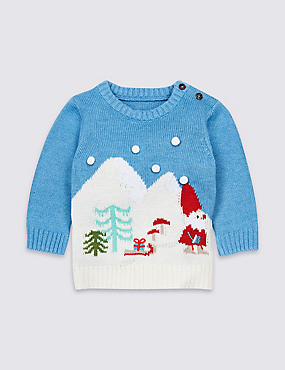 Christmas Scene Knitted Jumpers