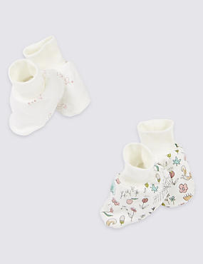 Baby Pure Cotton Booties