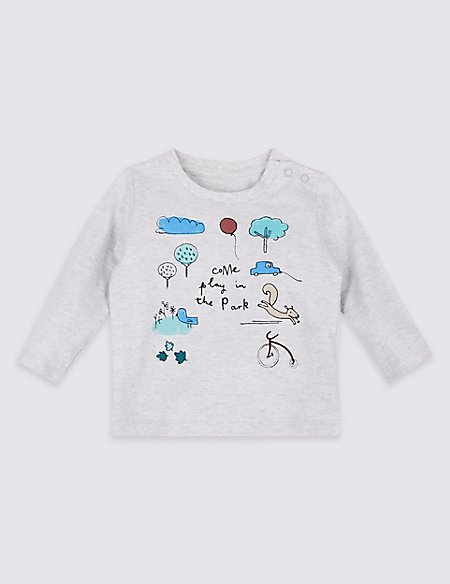 Come Play in the Park Pure Cotton Top