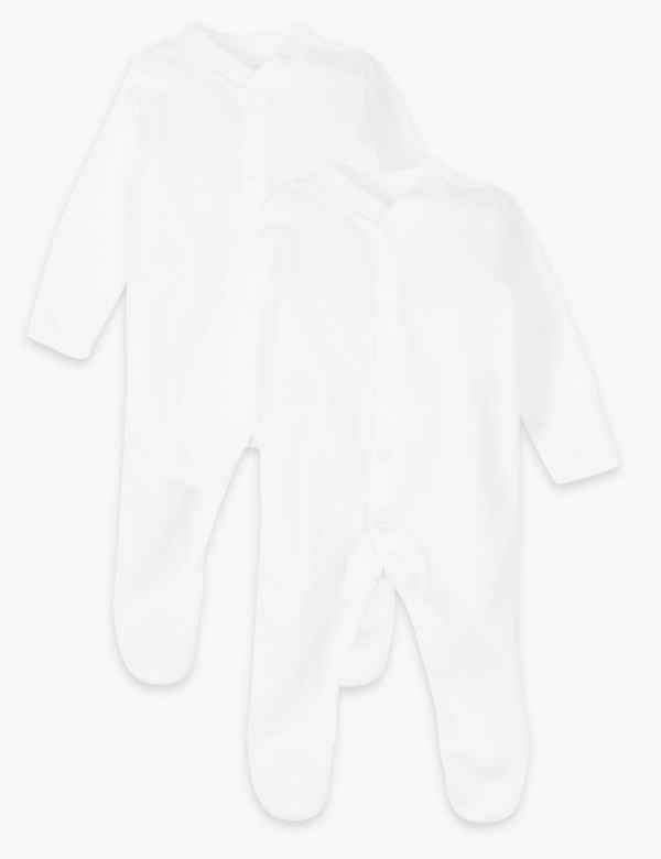 8c00ff56b White Sleepsuits   baby grows
