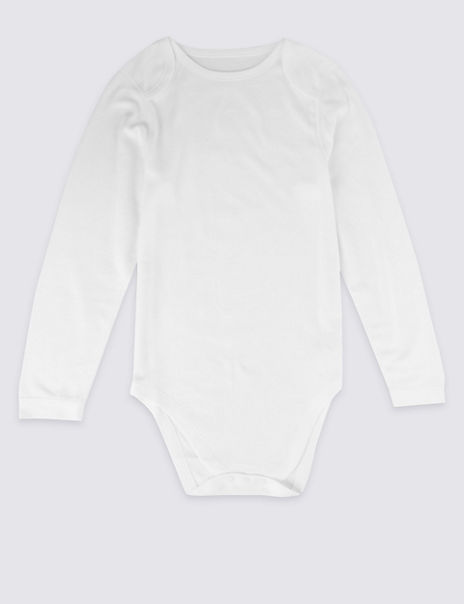Easy Dressing Unisex Pure Cotton Bodysuit (9-16 Years)