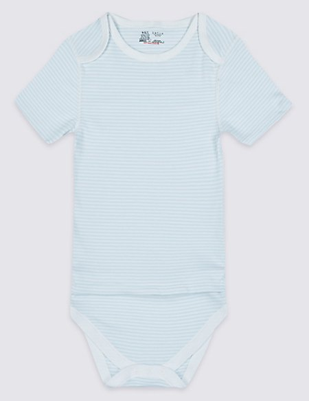 Pure Cotton Flat Seams Bodysuit (0 Months - 16 Years)