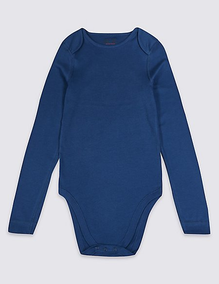 Easy Dressing Pure Cotton Bodysuit (3-16 Years)