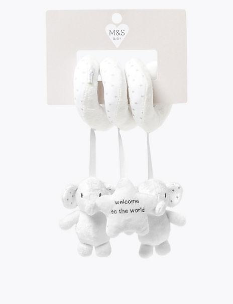 Elephant Spiral Soft Toy