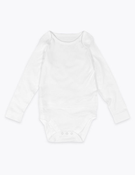 Easy Dressing Cotton Bodysuit