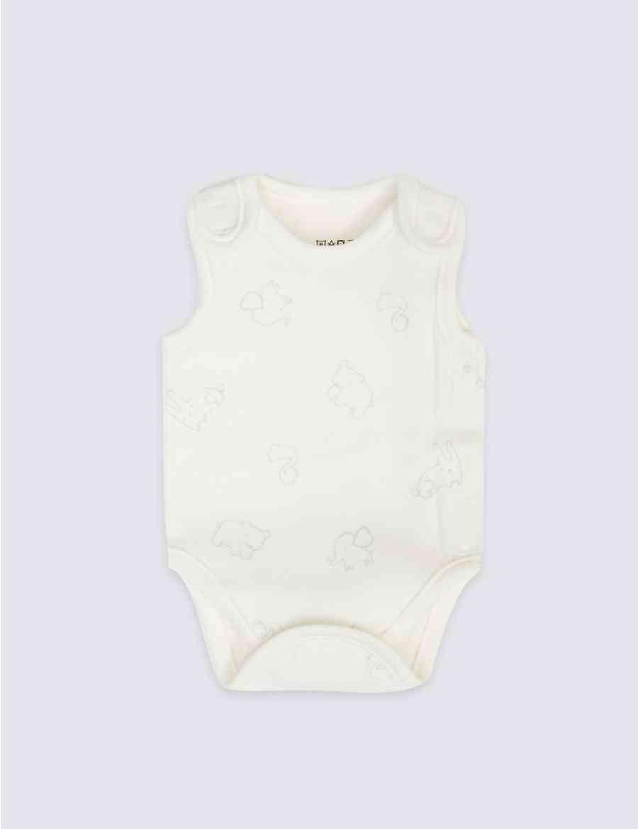 f7b0537d5 3 Pack Premature Pure Cotton Bodysuits