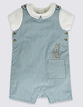 2 Piece Peter Rabbit™ Bib Short & Bodysuit