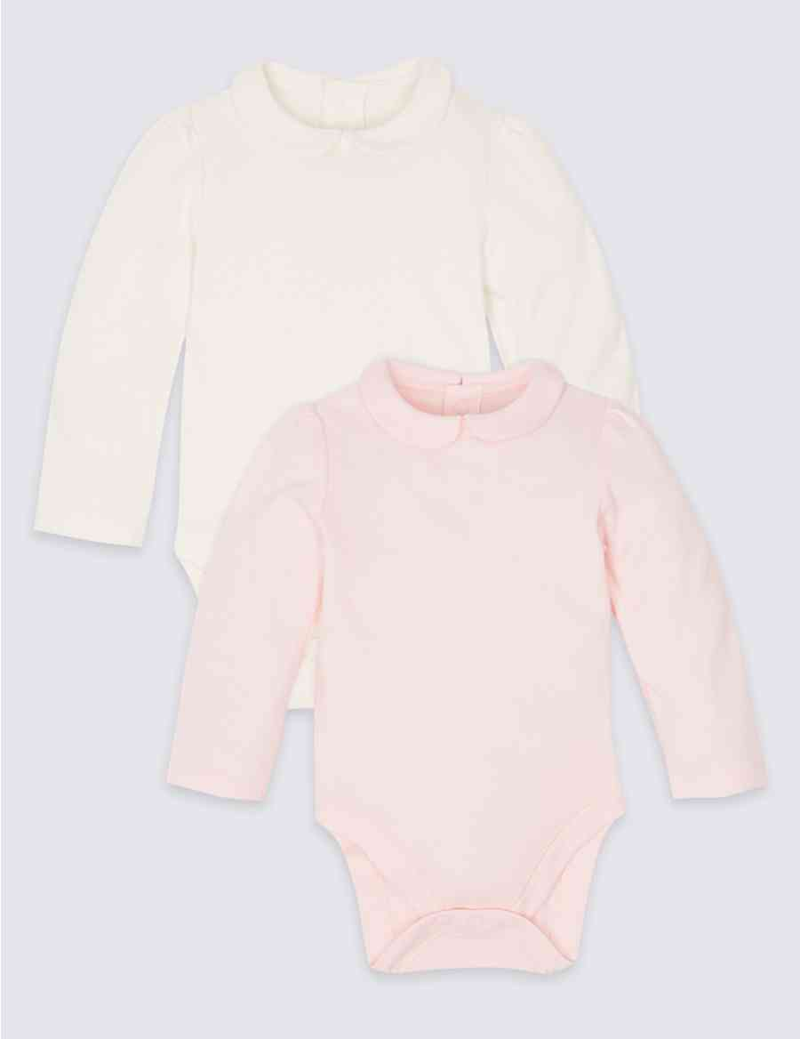231f3707f4 2 Pack Pure Cotton Bodysuits