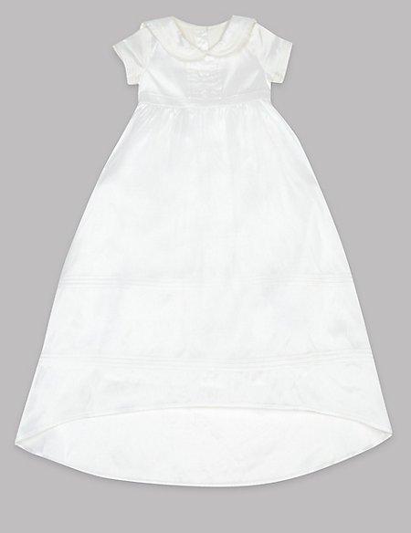 Pure Silk Christening Baby Dress
