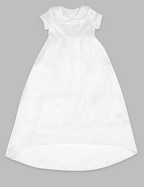 Pure Silk Christening Baby Dress