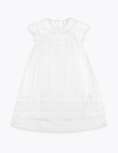 14dc0eedd86 Vyšívané křestní šaty pro miminka