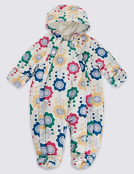Long Sleeve All Over Print Snowsuit