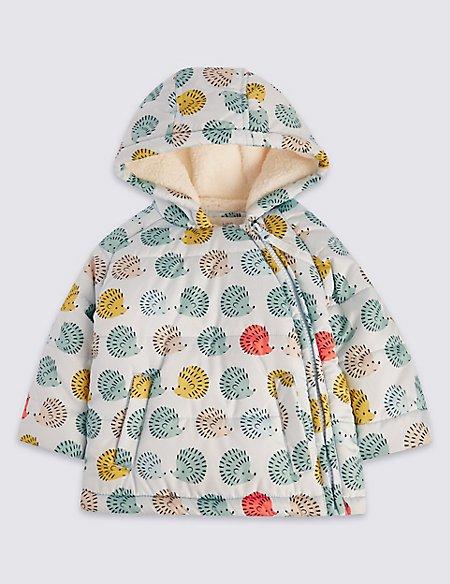 Hedgehog Long Sleeve Coat with Stormwear™