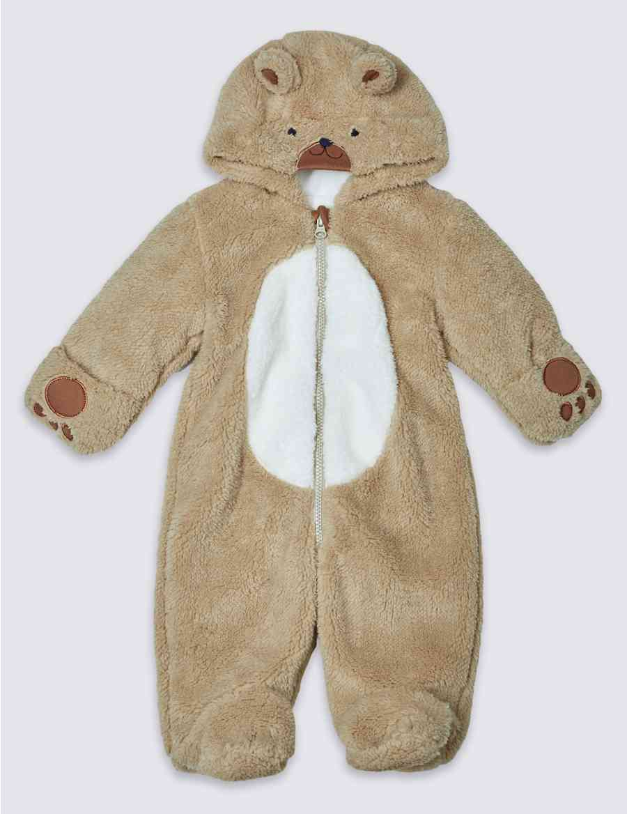 13b7f3fa3 Long Sleeve Teddy Pramsuit