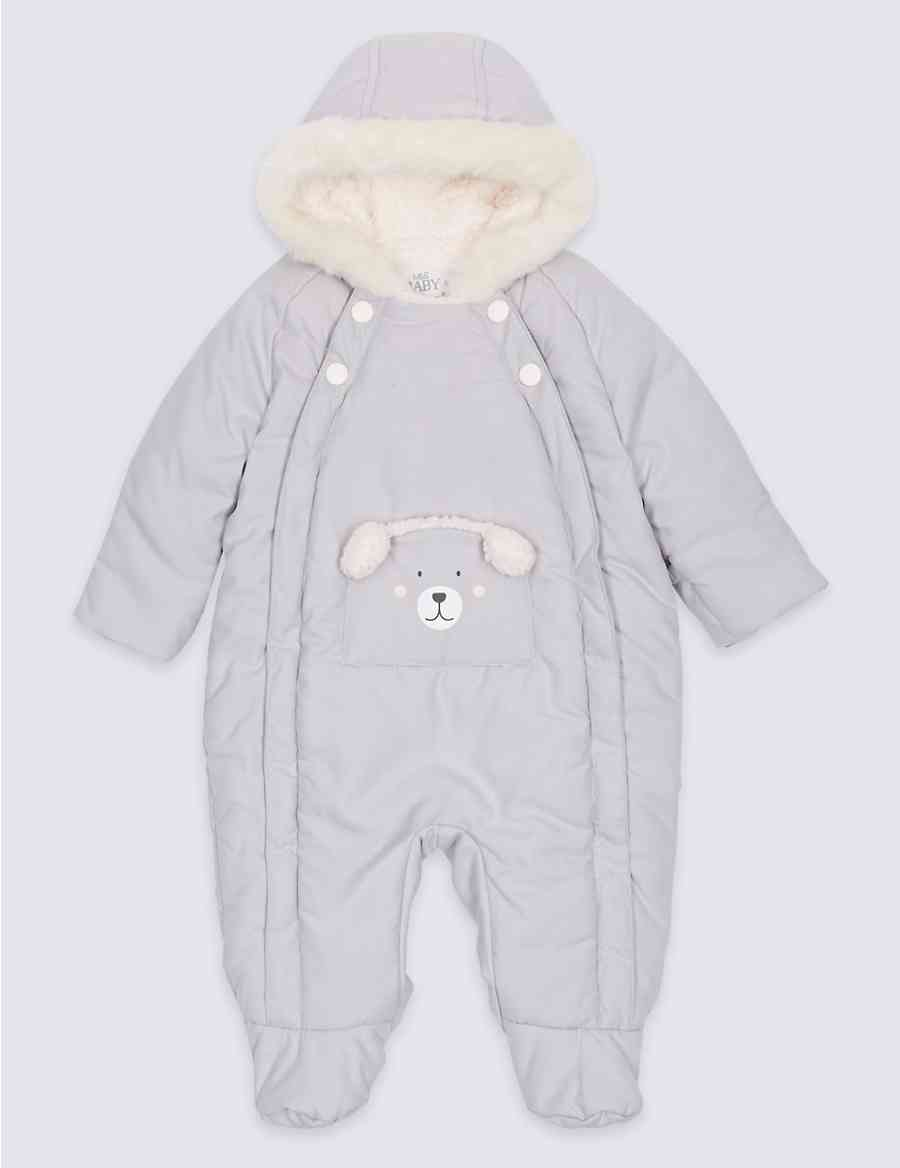 d4a5ee347 Faux Fur Bear Snowsuit with Stormwear™