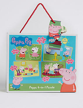 Peppa Pig™ 4 in 1 Puzzle