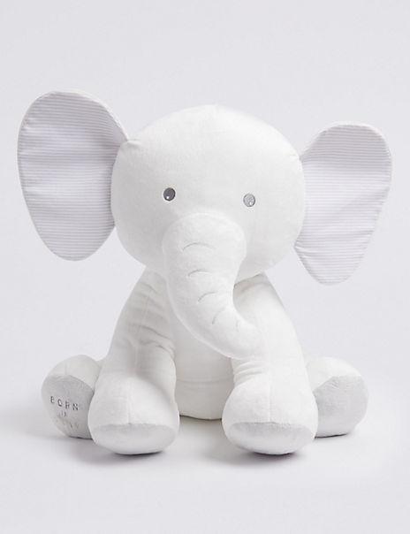 Large Born in 2019 Elephant Soft Toy