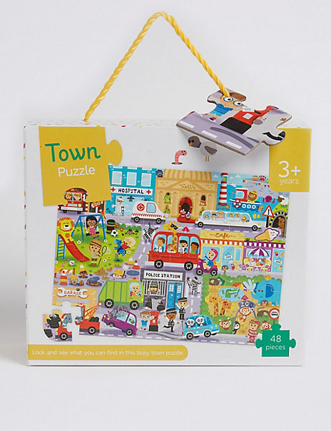 Look & Find Town Puzzle