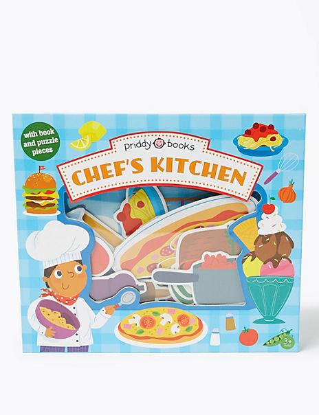 Let's Pretend Chef's Kitchen Book